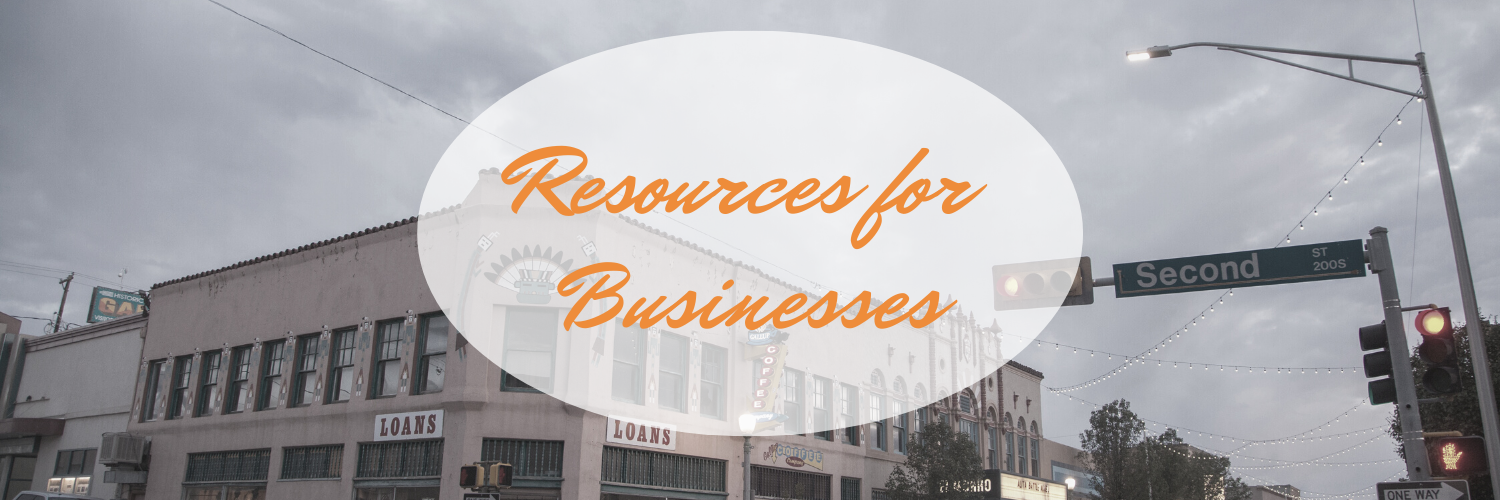 Resources for Downtown Gallup Small Business Owners
